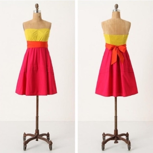 Anthropologie Dresses & Skirts - ANTHRO MAEVE ColorBlock Dress